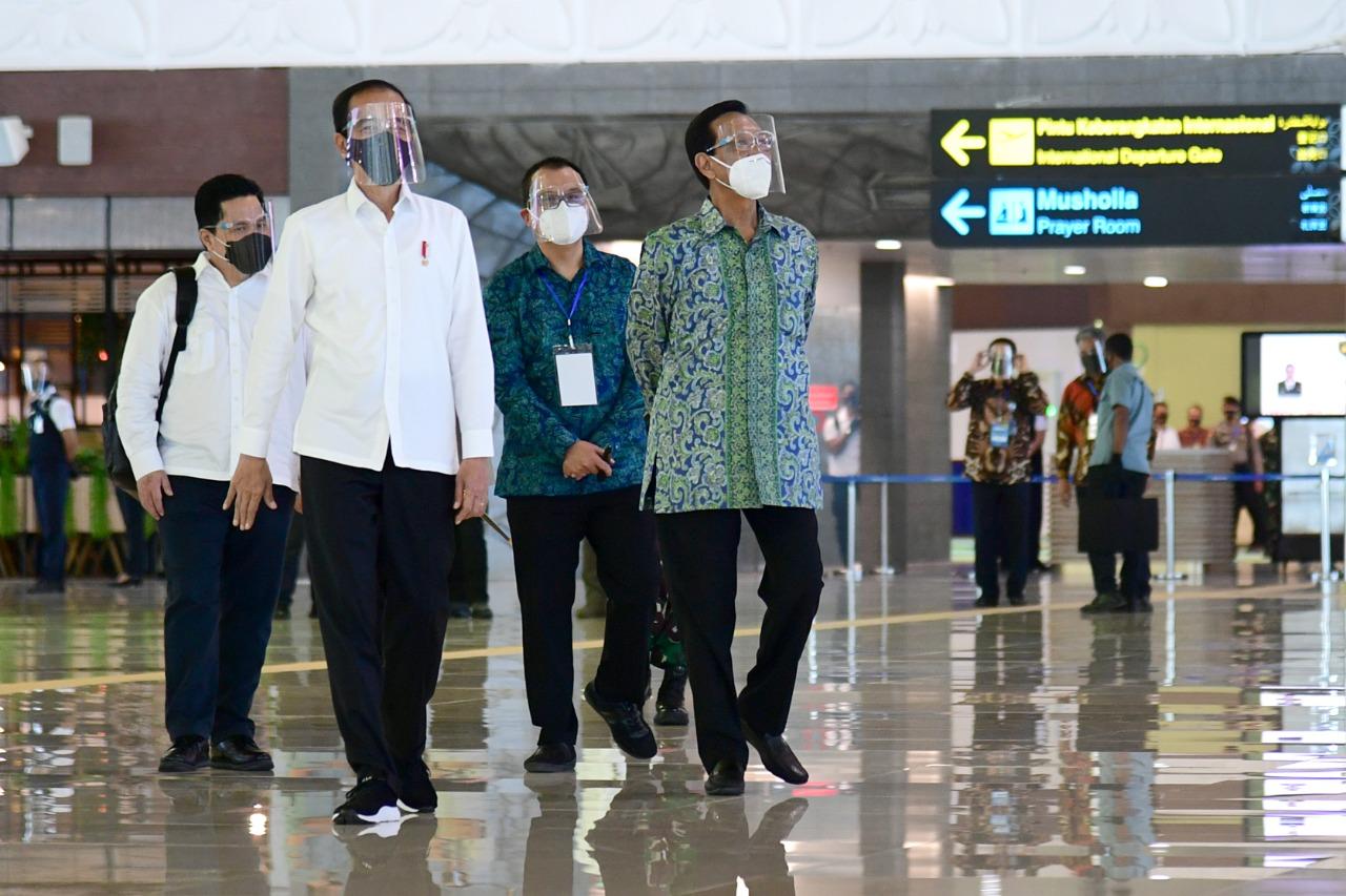 Presiden RI Joko Widodo Resmikan Bandara YIA © Bandara YIA