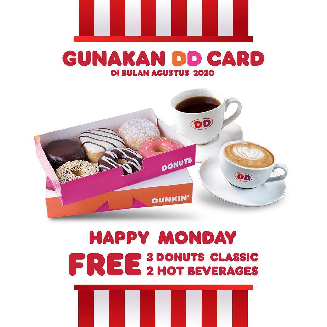 Promo Dunkin Donut via www.instagram.com/dunkin.id