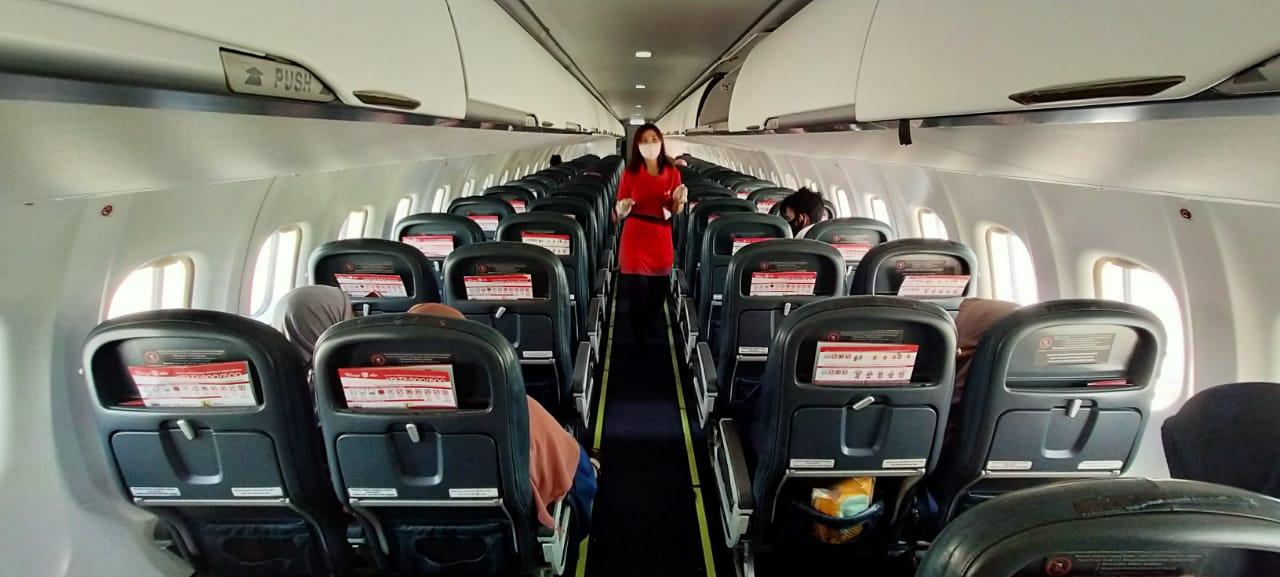 Kinerja Sirkulasi dan Kualitas Udara dalam Pesawat ATR 72 Wings Air Terjamin Baik © Lion Air Group