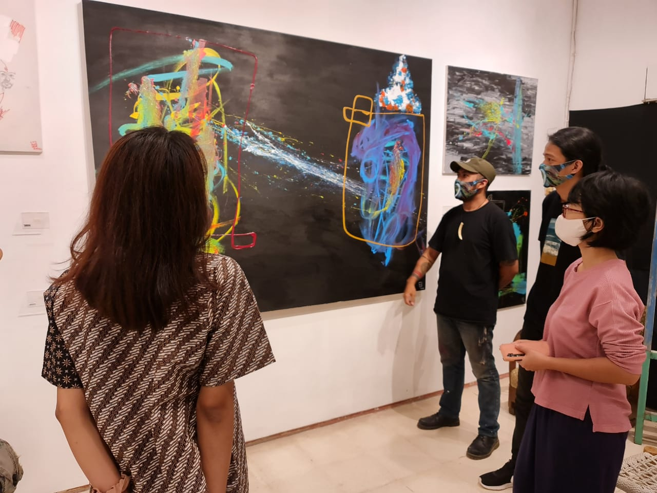 Seniman Miftah Rizaq Gelar Pameran Tunggal