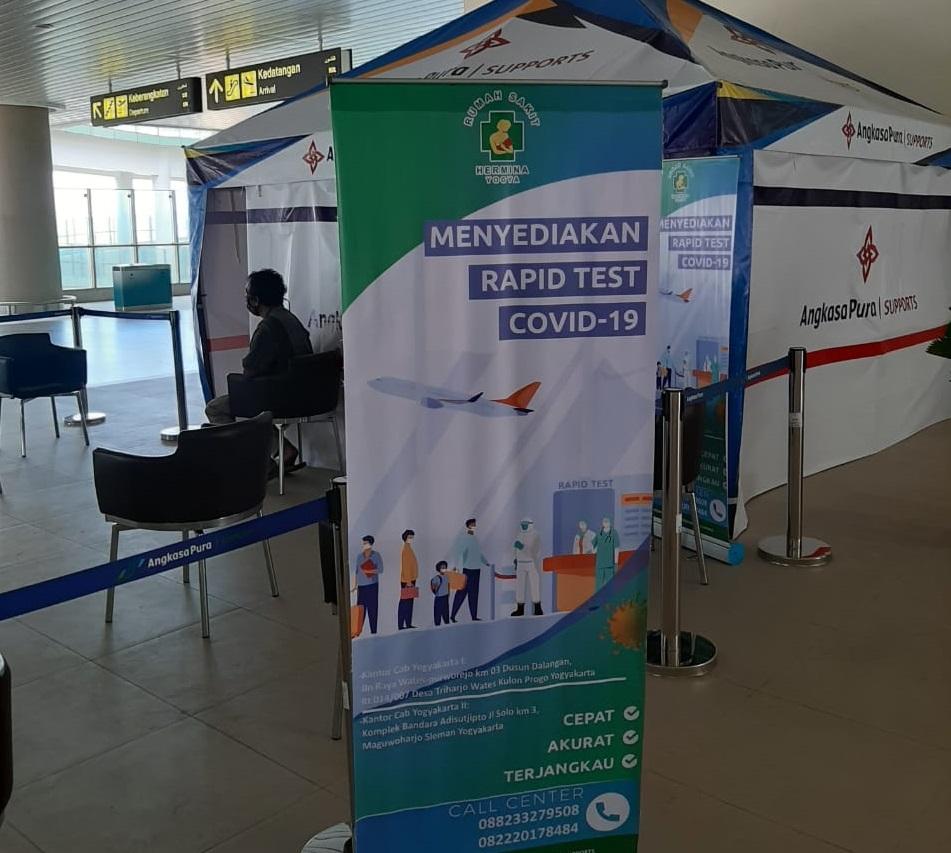 Layanan Rapid Test di Bandara ©Bandara Internasional Yogyakarta