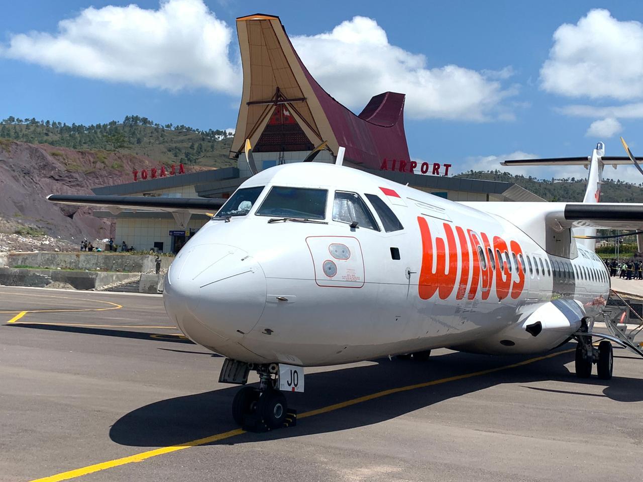 Wings Air Terbang ke Toraja Mulai 4 September 2020 © Lion Air Group