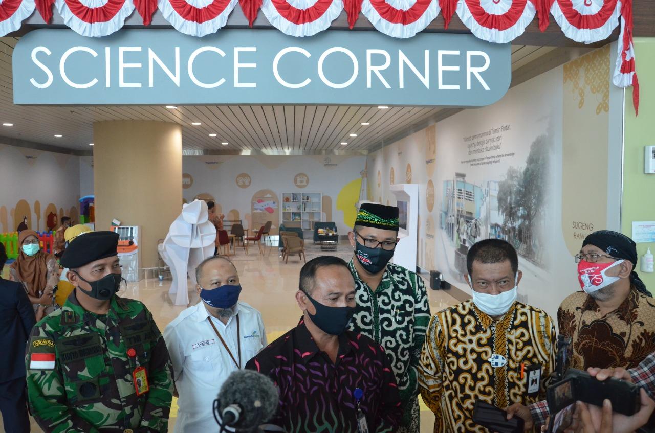Bandara YIA Hadirkan Science Corner Taman Pintar @ Bandara YIA